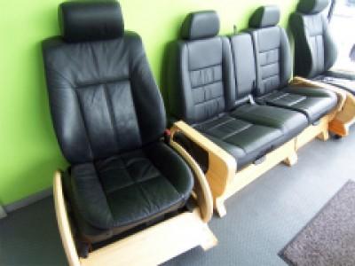 【試作品】 自動車のシートを利用した座椅子の紹介